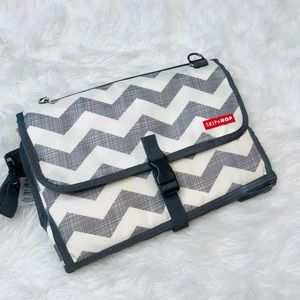Skip Hop Chevron Print Baby Changing Station